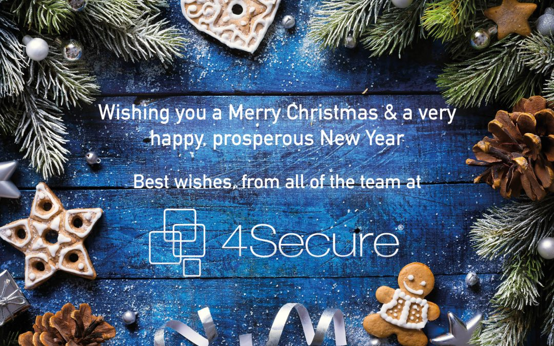 Wishing you all a very Merry Christmas & a Happy New Year from the 4Secure Team!
